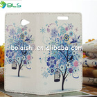 2014 new design flip cover mobile phone case for sony m2