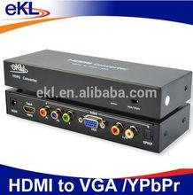 HDMI to VGA rca converter / HDMI to YPbPr converter box 1080P