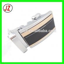 supply high quality custom logo magnetic automatic buckle, rachet leather fashion metal wholesaler adjustable belt buckle