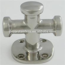 Stainless steel marine cross bollards