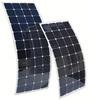 High Efficiency 20.5% 120W Sunpower Semi Flexible Solar PV Panel for boats,golf carts