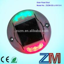IP68 high flashing aluminium solar road marking/ studs road reflectors