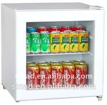 Glass Door Mini Refrigerator with CE Certificate