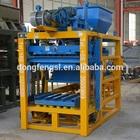 QTJ4-25C automatic concrete block making machine in bangalore