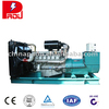 sufficient combustion Yuchai silent diesel generator set used in business hotel
