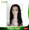 Najia Hot Sale Virgin Afro Kinky Human Hair Lace Wig