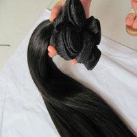 20'' Peruvian Straight Hair Extension Factory Price 7A Full Cuticle 100% Virgin Brazilian Hair Wholesale