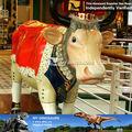 Meu Dino Shopping decoração vida tamanho vaca estátua da decoração artística