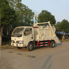 Nice price Dongfeng skip loader waste truck 6 ton for sale