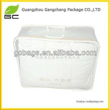 Fashion PVC waterproof zipper quilt storage bag wholesale