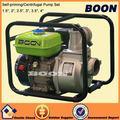 Poderoso motor a gasolina 3.5 polegadas saída chupar bomba de água