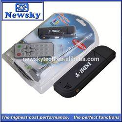 support windows XP/Vista/7/8 usb isdb-t digital tv stick