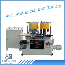 Automatic Necker and Flanger Two-Sation Combiner Tin Can Manufacturing Machine Used for Milk Powder Box Making Line