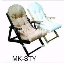 plush inflatable folding sofa chair