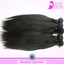 New Arrival Yaki Straight Fashion Black Women Mocha Hair Brazilian Hair