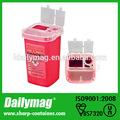 1.0L químico descartável recipiente de resíduos para biohazard de recolha de resíduos ( T1B )