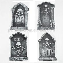 Halloween decoration 38CM small cheap Polyfoam Tombstone