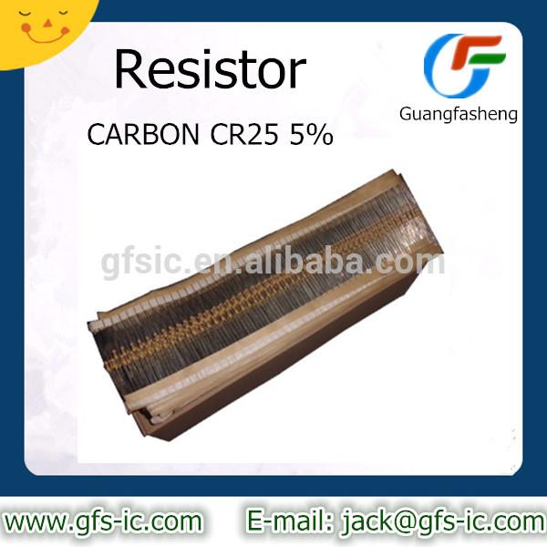RESISTOR CARBON CR25 5% 1K