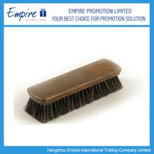 Exquisite Promotional Wooden Pig Bristle Plastic Shoes Brush