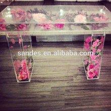 Party Plastic Cake Stand Wholesale Bridal Transparent Decorative Wedding Acrylic Cake Stand