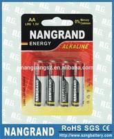 lr6 aa size alkaline battery cell