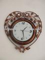 O amor do coração de metal relógio de parede vintage( gzh- 95)
