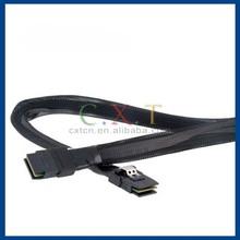 PVC SAS to SAS Conversion Cable (Black)
