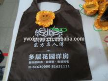 summer sunflower foldable shopping bag