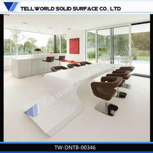 fabrik liefern spezielle design moderner marmor lange besprechungstisch weiß