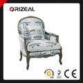 Accent de madeira antiga sala de estar cadeira OZ-SW-045