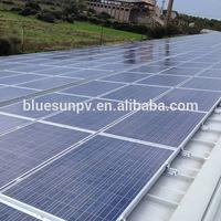 Bluesun easy installation on-grid and off-grid solar system dubai
