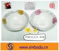 salada de porcelana tigela