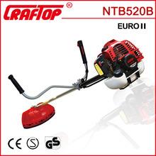 51.7cc 1.6kw petro engine mechanical grass cutter NTB520B
