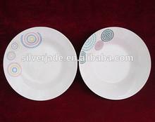 hot wholesale bone china dinner plates