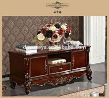 American style elegant wooden bedroom sets floor cabinet
