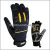 Fashion design non slip mechanic gloves for safety work