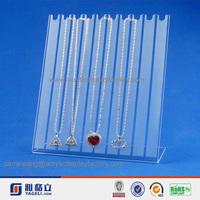 Advertising! hot acrylic best quality pandora jewelry display