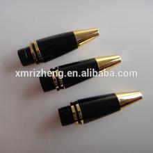 Black and Golden Ballpoint Pen Tips