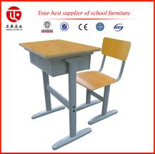 Plywood material school desk dimensions in school set