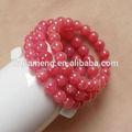 2014 alla moda chunky collana di perline per bambina