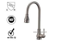 cupc pullout Brass Kitchen Sink Faucet/Mixer (82H17-BN-N)