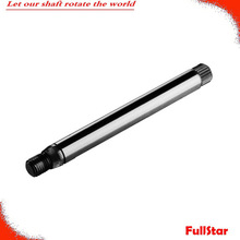 oem manufacturing gear wiper shaft grinder For Auto Parts ,surface hardened
