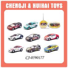 Radio control attractive plastic rc mini racing car with light