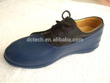 Mode men's rubber overshoe no heel&men's rounded rubber overshoe