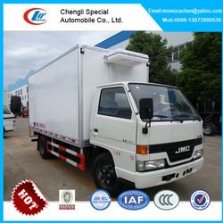 JMC refrigerator cooling van for sale,carrier units refrigerator truck 3-5Ton,refrigerator box truck