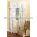 premium vertical del bordado gasa para cortinas de las ventanas
