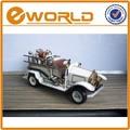 branco imitação antigo modelo de carro vintage ofício brinquedo caminhão de bombeiros modelo em miniatura modelo de carro de brinquedo