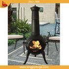 112cm steel mix cast iron Chimenea burner