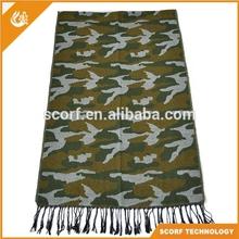 New Designer Fashion Military Army Scarf Wholesale