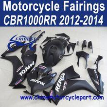 2012-2014 For HONDA CBR 1000RR Motorcycle Bodycowl Matt Black Repsol FFKHD022